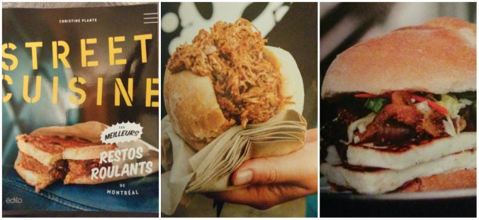 Top livres - street cuisine collage